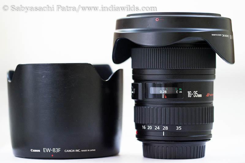 Canon EF24-70 f2.8 L USM lens