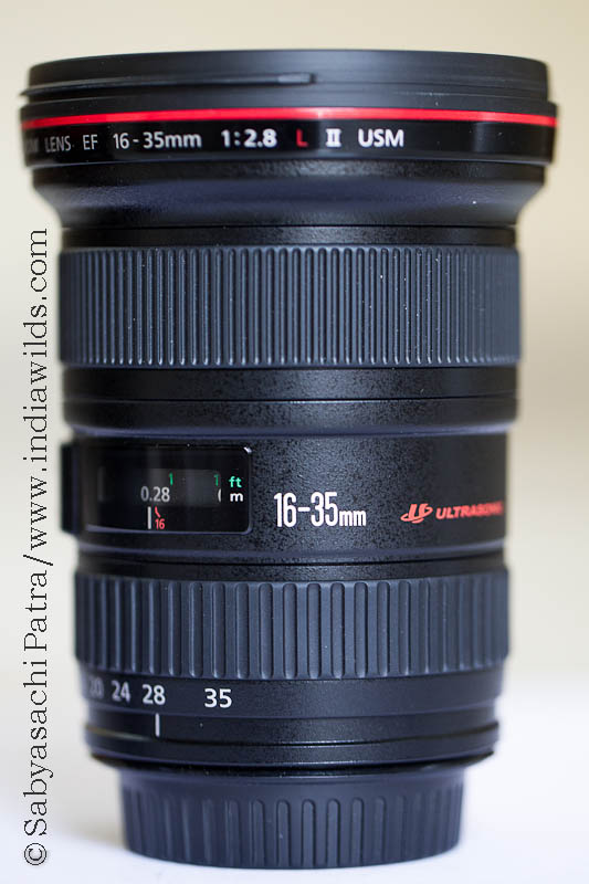 Canon EF 16-35mm lens