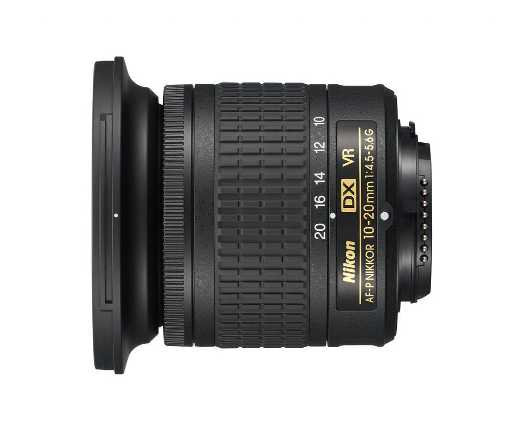 AF-P DX Nikkor 10-20mm f 4.5-5.6G VR lens
