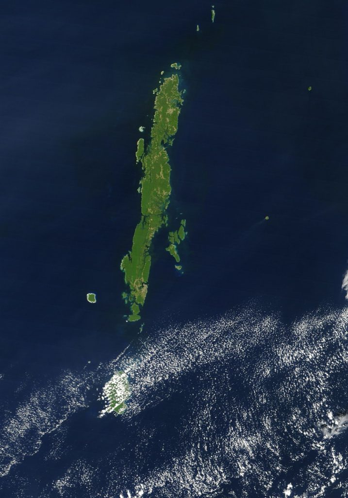 Andaman Group of Islands (Source: NASA)