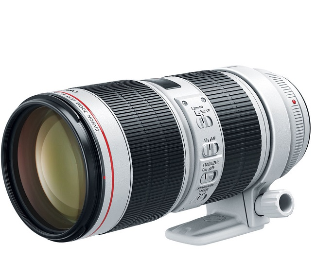 Canon Launches new 70-200 f2.8 and f4 version lenses