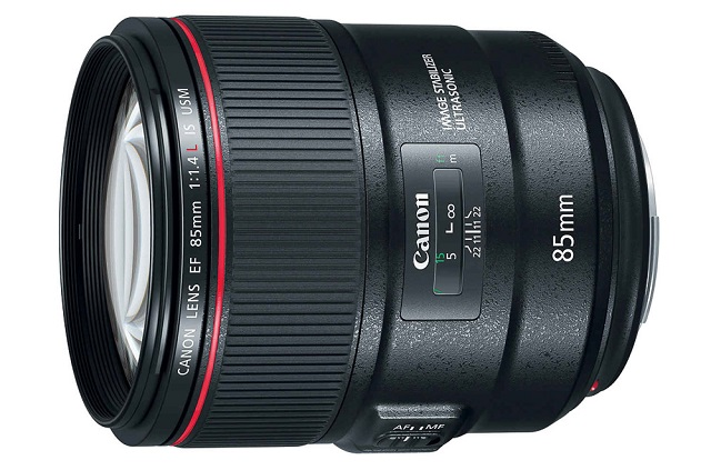 EF85mm f1.4L IS USM lens