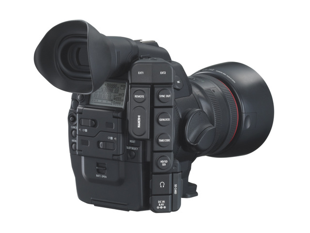 Canon EOS C300 Side Profile