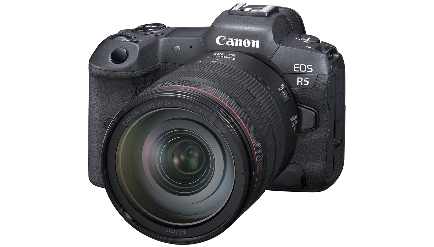 Canon EOS R5 full frame mirrorless camera shoots 8K raw video