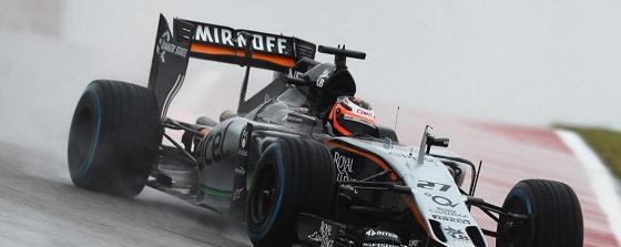 F1 cars emit high noise