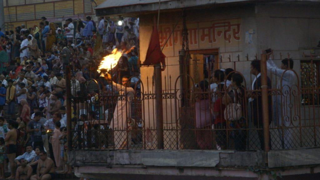 Ganga Aarti shot