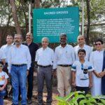 Plantation of Sacred Groves in MLIT Pune