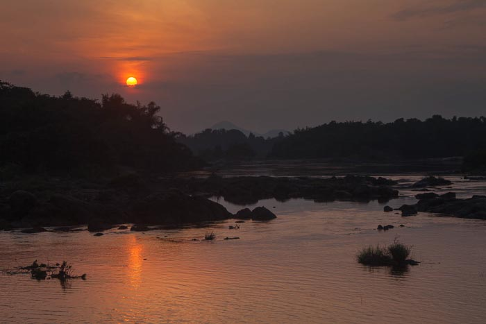 Sunset in Periyar