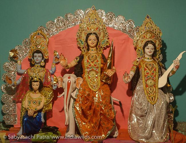 Goddess Laxmi on Elephant