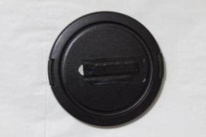 Lens Cap with a black tape