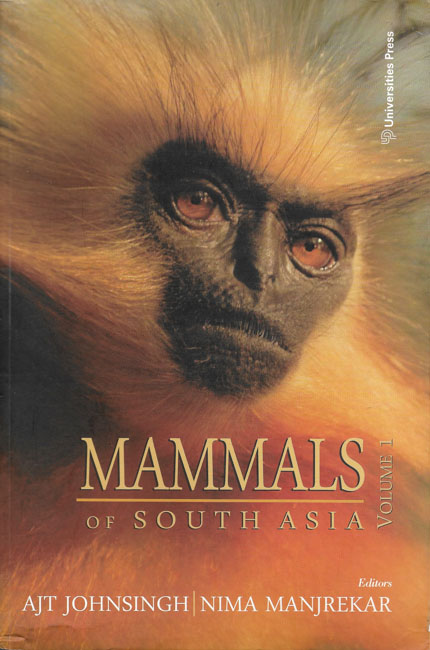 Mammals of South Asia Vol. 1 coverpage