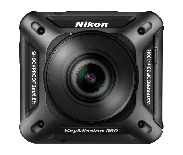 Nikon Launches KeyMission 360 action camera