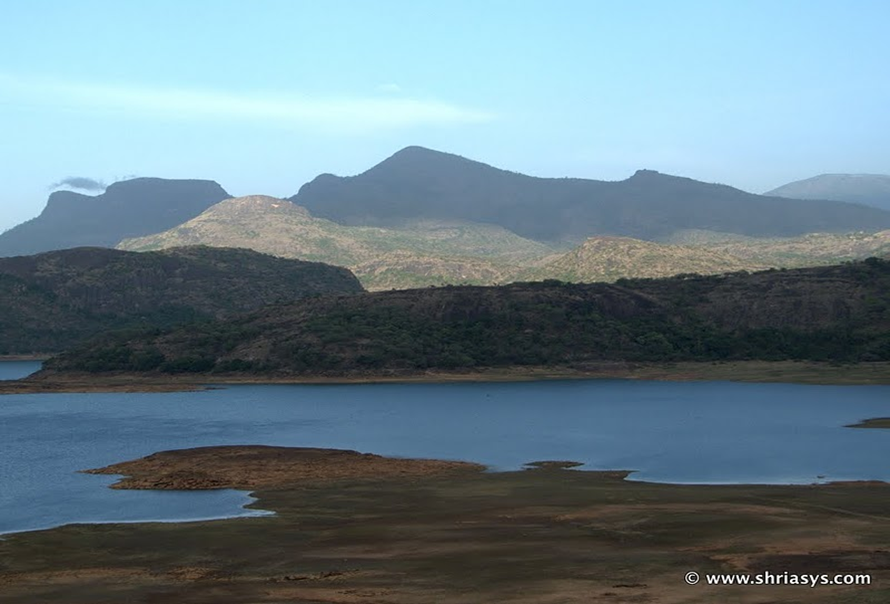Backwaters of Amravati Dam