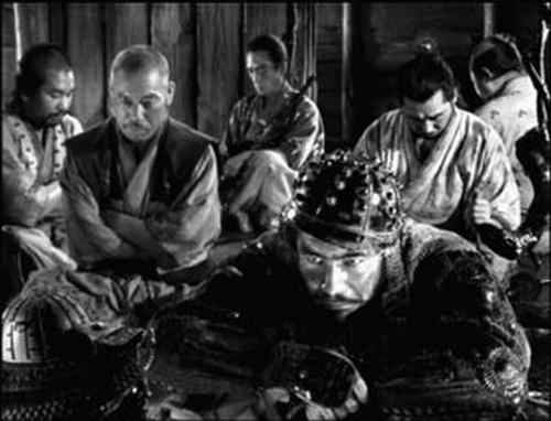 Kikuchiyo's outburst in Seven Samurai