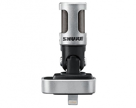 Shure MOTIV M88 stereo mic for iOS