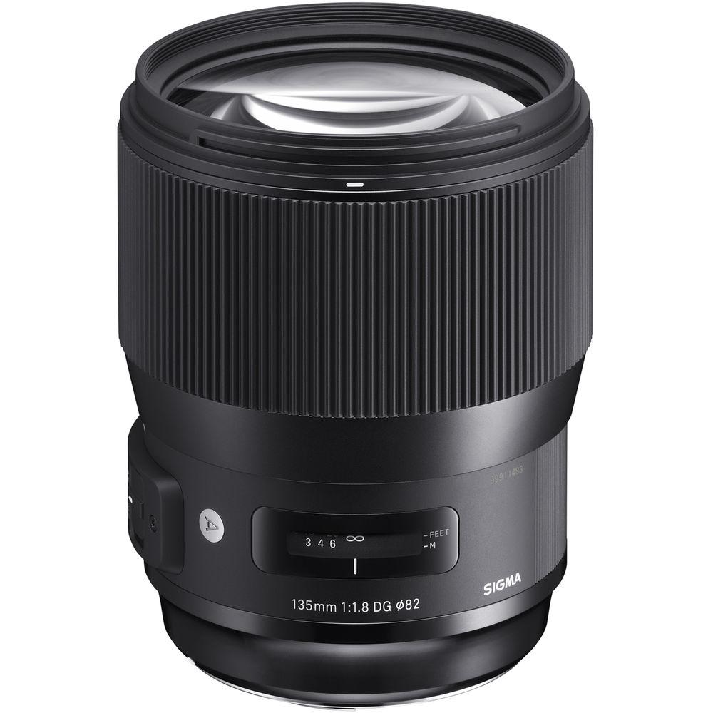 Sigma 135f1.8 DG HSM Art lens