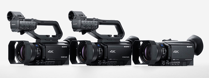 Sony 4k Camcoders