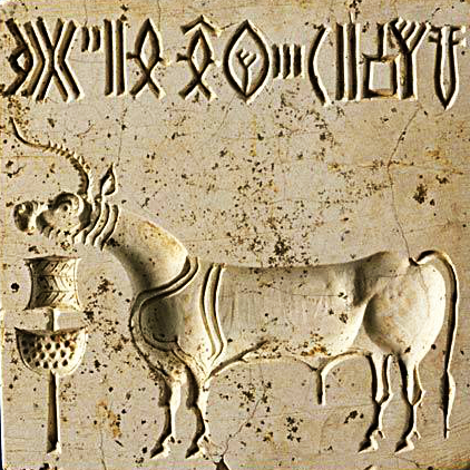 Unicorn seal Harappa