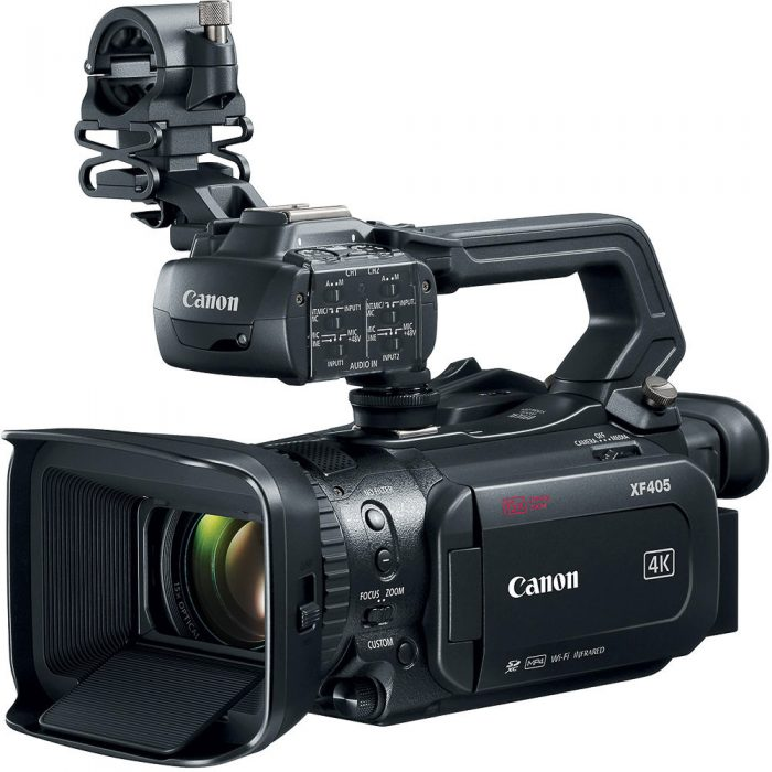 Canon XF405 4k 60p camcorder