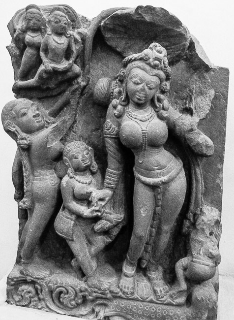 Yamuna in Stone - 8 th Century, Madhya Pradesh, National Museum