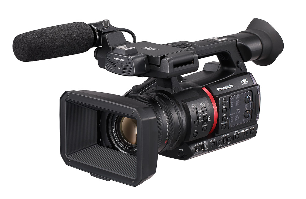 AG-CX350, a 4K 1.0-type handheld camcorder