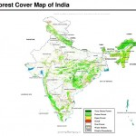 Forest Cover Map of India