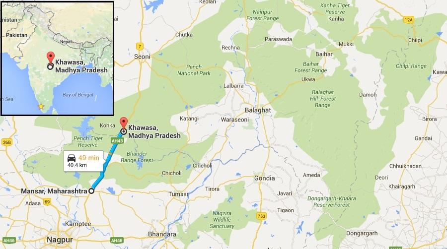 NH7 - Khawasa (MP) - Mansar (Maharashtra)