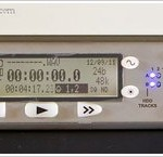 The Sound Devices 702T sound recorder with Time Code