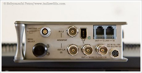 Sound Devices 702T right side panel