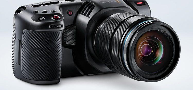 Blackmagic Pocket Cinema Camera 4K Blackmagic Design has announced the new Blackmagic Pocket Cinema Camera. The BMPCC4k features an all new handheld design. TheBlackmagic Pocket Cinema Camera 4K has a 4/3 size sensor, 13 stops […]