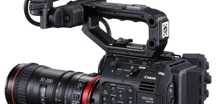 Canon announces EOS C300 Mark III cinema camera Canon announced the Cinema EOS C300 Mark III camera in a virtual event today. The EOS C300 Mark III cinema camera has a Super 35mm sensor unlike […]