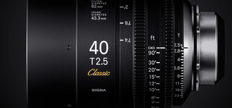 """Sigma launches FF Classic Prime Line of Cine lenses State-of-the-art resolution meets the classic """"look"""". SIGMA CINE LENS welcomes a new series """"FF Classic Prime Line"""" to the lineup. With cutting-edge technology, SIGMA's new """"Classic […]"""