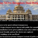 No to steel flyover