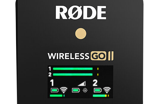 Rode Announces Wireless GO II –  Dual Channel Wireless Microphone System The world's smallest and first truly wireless microphone has been reborn. The Wireless GO II is an ultra-compact and extremely versatile wireless microphone system […]